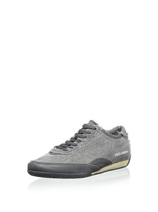 50% OFF Dolce & Gabbana Men's Sneaker (Anthracite)