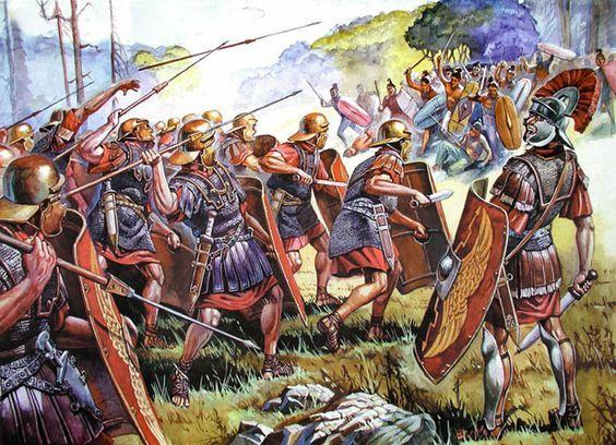 The Battle of Teutoburg