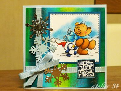 Christmas card 2012 with a LOTV stamp
