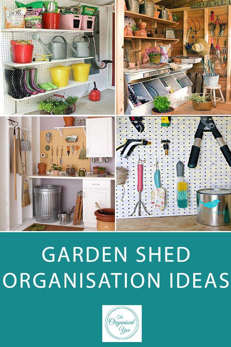 garden shed organisation ideas gardening tools organization