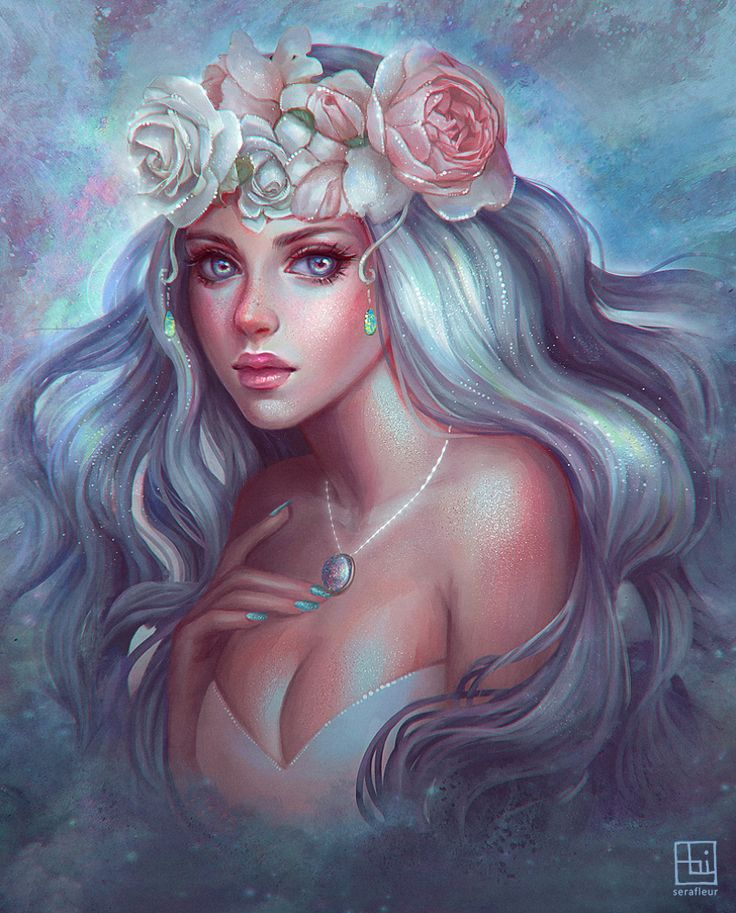 Pearlescent Beauty by serafleur.deviantart.com on @DeviantArt