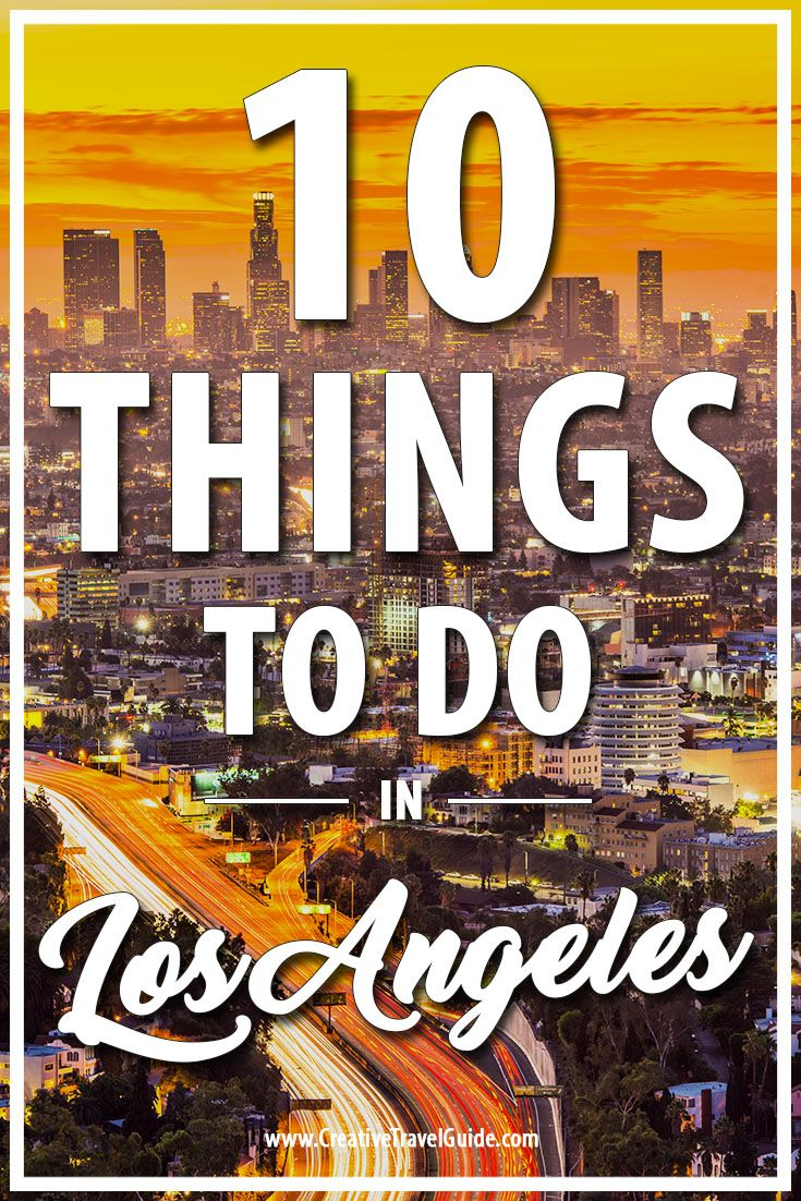 An incredible city - there are my top things to do in Los Angeles. Attractions are spread across this expansive city so it may be worth hiring a car or using a hop-on, hop-off sightseeing bus.