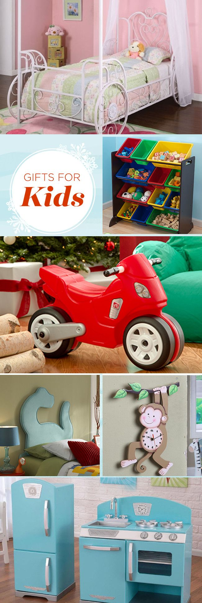 Featuring battery-powered cars, teepees, and snow cone makers, these picks get the stamp of approval from kids. You'll save big, while they laugh and play the days away! Sign up today and unwrap saving on gifts that spread cheer! Save up to 70% off our holiday wishlist event and enjoy free shipping on all orders over $49.
