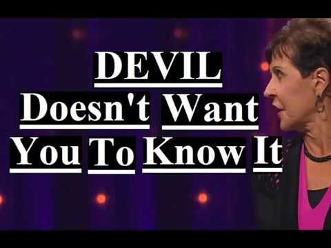 Joyce Meyer - Devil Doesn't Want You Know It Sermon 2019
