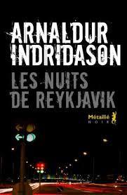 Les nuits de REYKJAVIK 2012 Arnaldur INDRIDASON mb