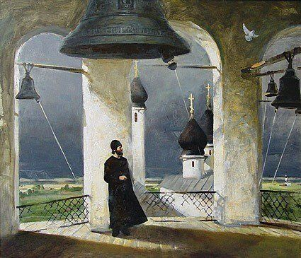 Егоров Александр. На колокольне