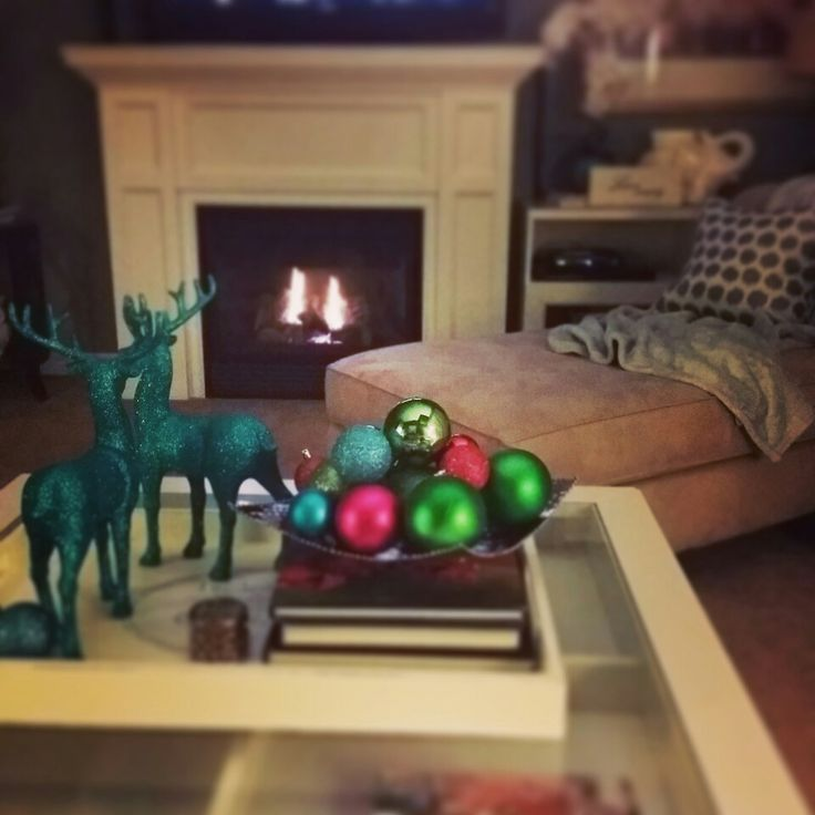 A touch of Christmas decor
