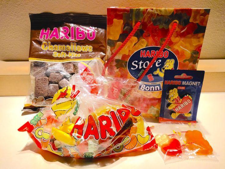 Zakupy w sklepie firmowym Haribo w Bonn