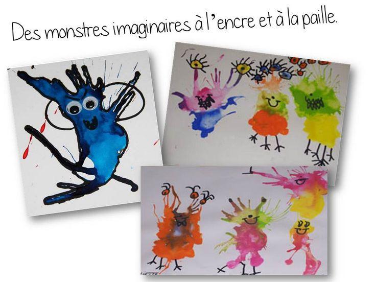 En lien avec le parcours lectures autour des monstres que je proposerai à mes élèves à la rentrée (à retrouver ici ),  nous réaliserons quelquesactivités en art autour de cethème....