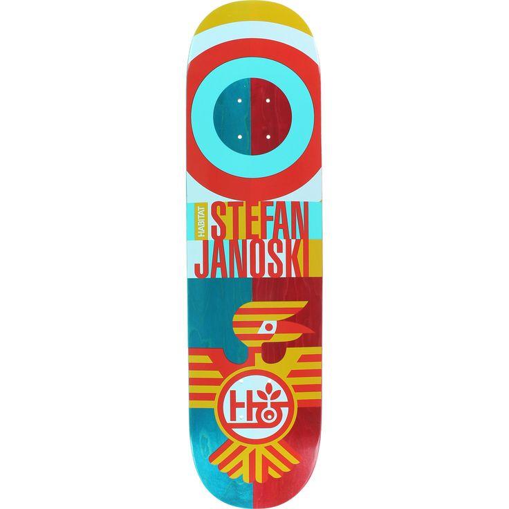 """Habitat Stefan Janoski Raptor Skateboard Deck - 8.0"""""""