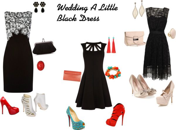 What To Wear To A Summer Wedding Little Black Dress Fashion