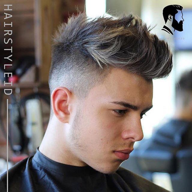 Potongan Rambut High Fade Quiff Haircut Telah Menjadi Pilihan Potongan Rambut Pria Yang Sangat Populer Bebera Potongan Rambut Pria Rambut Pria Gaya Rambut Pria