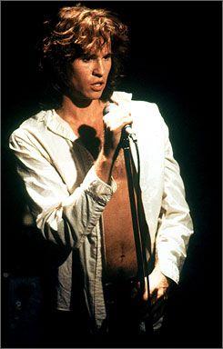 val kilmer | As psychedelic rocker Jim Morrison, portrayed by Val Kilmer in the ...