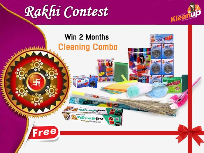 This #RakshaBandhan we want to celebrate the bond between brother and sister and make you recall your love, your anger, your naughtiness or your partner-in-crime. Stories with your brother… so go ahead share your stories preferably with pictures and the three selected stories will get a chance to win 2 Months #cleaningcombo from Pranay Impex along with #Rakhi for your loved ones. All you have to do to win this #contest:
