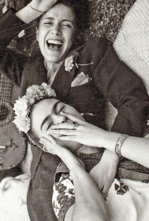 Frida Kahlo and singer Chavela Vargas c.1945