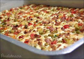 PANELATERAPIA - Blog de Culinária, Gastronomia e Receitas: Torta de Atum
