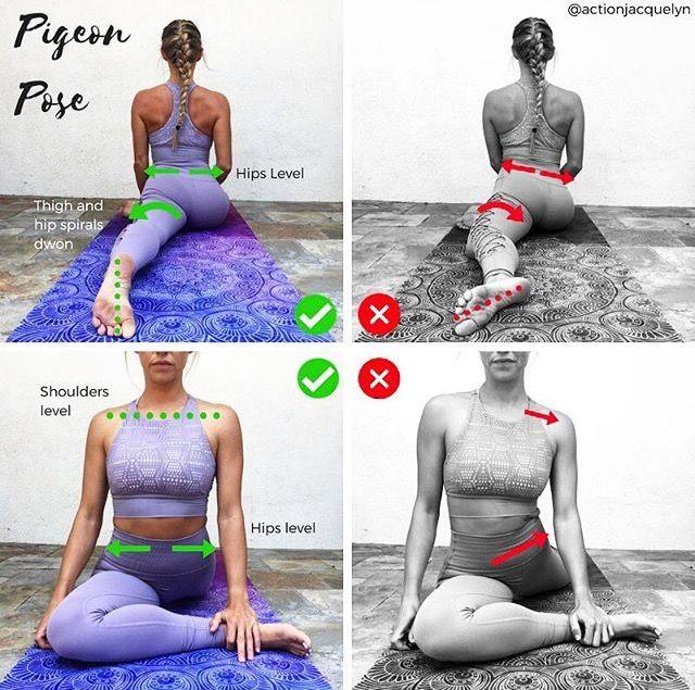 #pigeonpose – Yoga Fitness