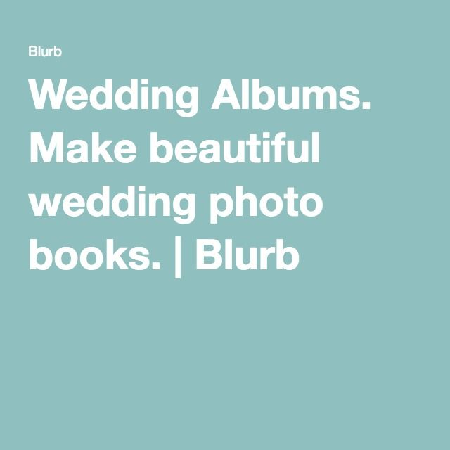 Wedding Albums. Make beautiful wedding photo books. | Blurb