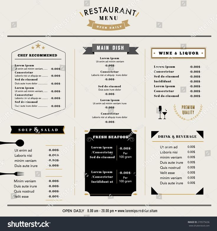 Best 25+ Restaurant menu boards ideas on Pinterest Menu board - microsoft word restaurant menu template