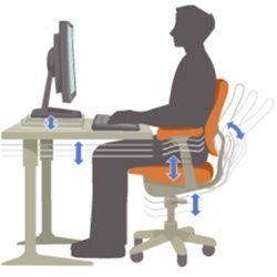 10 conseils pour un bureau de travail ergonomique!