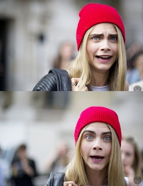 Celebrity I would love to be besties with 9/20: Cara Delevingne, but there are so many other celebrities that look fun to hang out with this was hard.