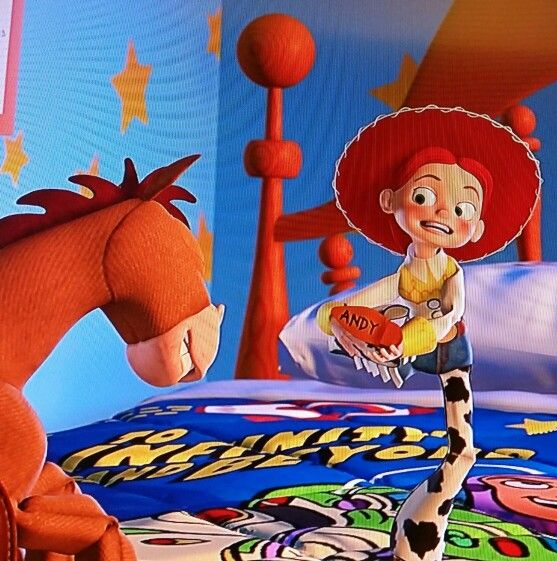 jessies boot andys name toy story 2 disney