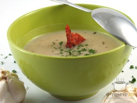 Supa de usturoi (f)