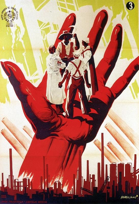 Jose Bardasano. Communist Propaganda. 1937