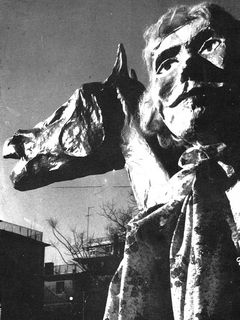 Marco Cavallo di Giuliano Scabia. 1973.