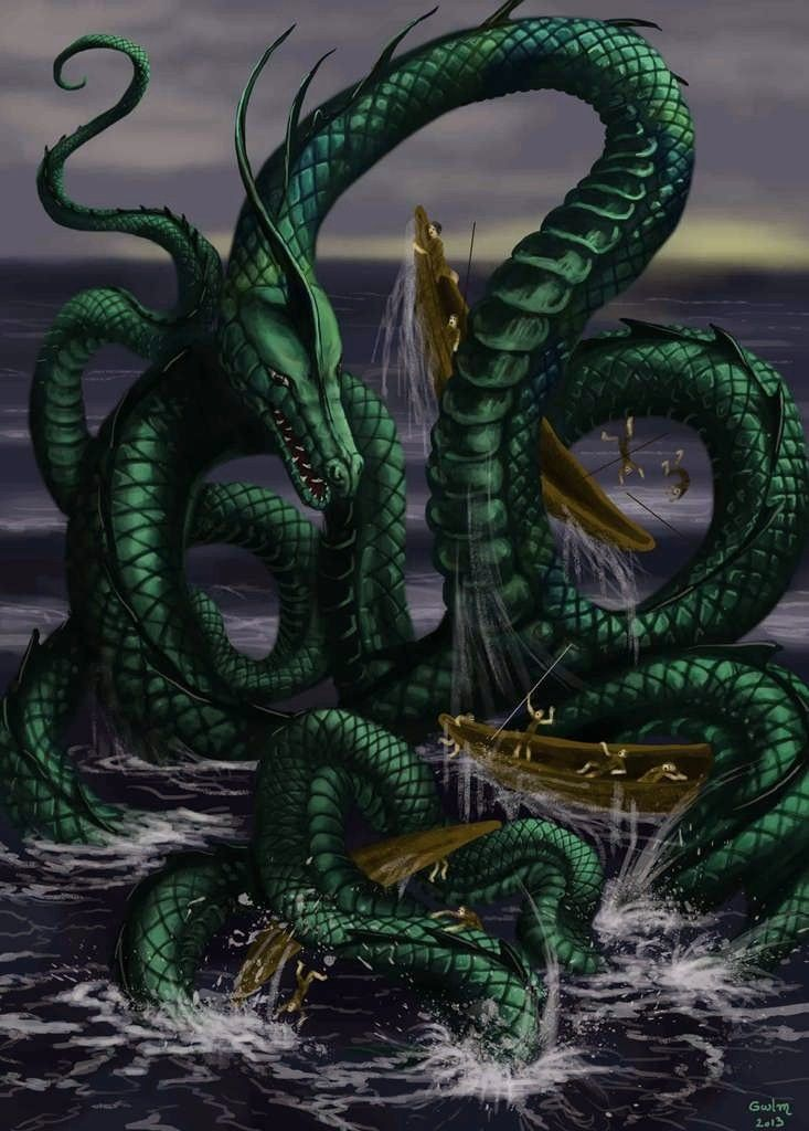 1000+ images about Sea Monsters on Pinterest | Black sea ...