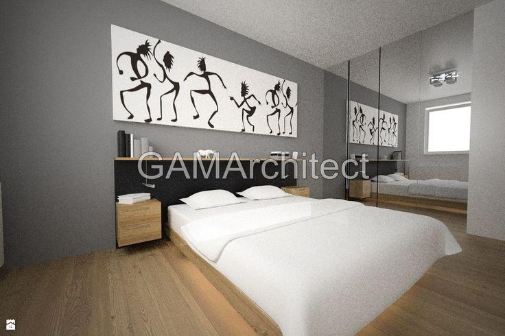 Sypialnia styl Minimalistyczny - zdjęcie od GAMArchitect - Sypialnia - Styl Minimalistyczny - GAMArchitect