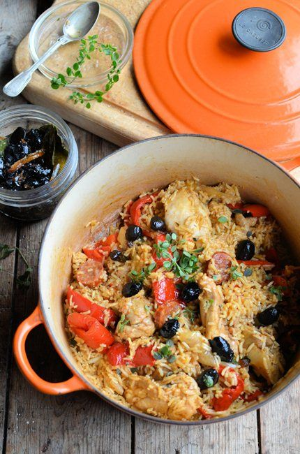 One Pot Winter Wonder - Spanish Chicken and Rice | Chicken ...