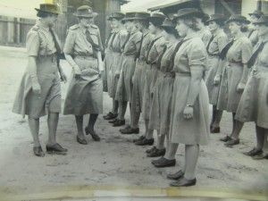Australian Women's Land Army Camp at Atherton, November 1943. OM90-04 Australian Women's Land Army Records 1942-1975 - State Library of Queensland