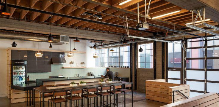 Warm industrial office space pinterest warm warm Industrial design office space