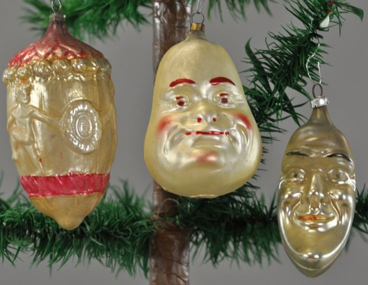 564 best antique glass christmas ornaments images on Vintage glass christmas tree ornaments