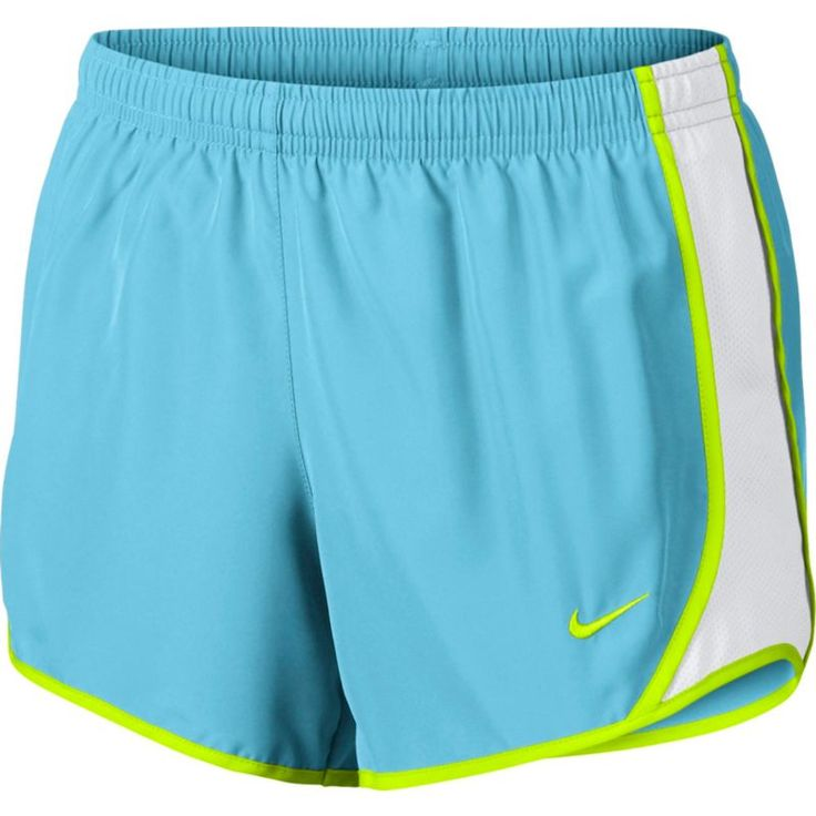 Nike Girls' Dry Tempo Running Shorts, Blue
