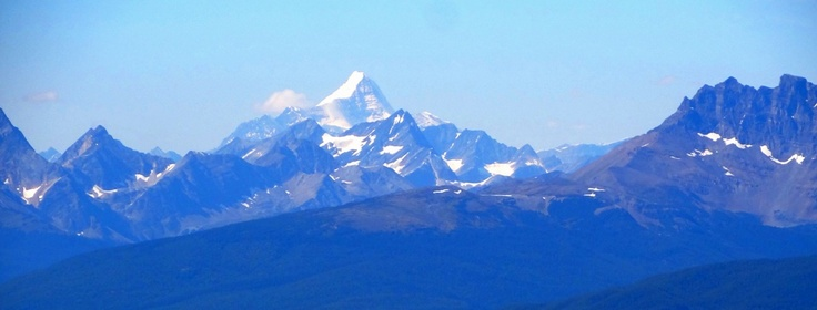Jasper National Park, View of Mount Robson