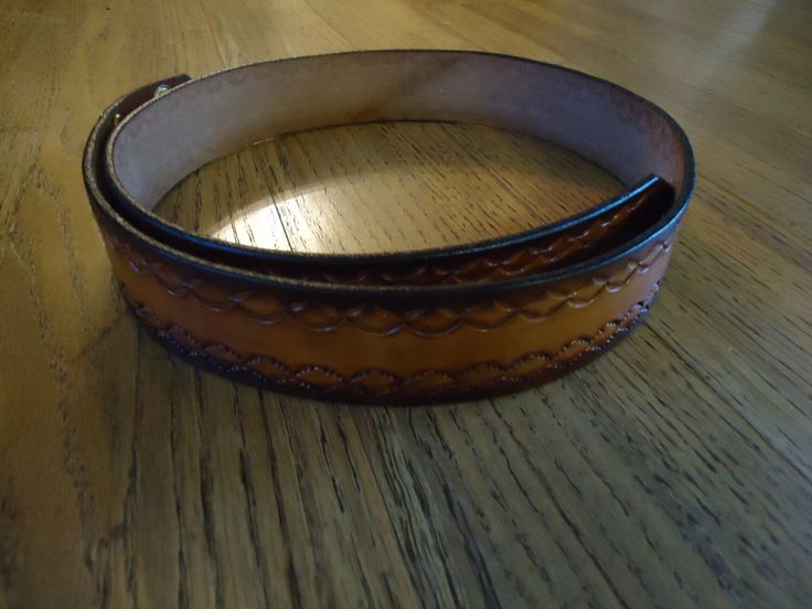 "Hand crafted Men's Brown Leather Belt size 38"" without buckle by RanasWraps on Etsy https://www.etsy.com/listing/180839229/hand-crafted-mens-brown-leather-belt"