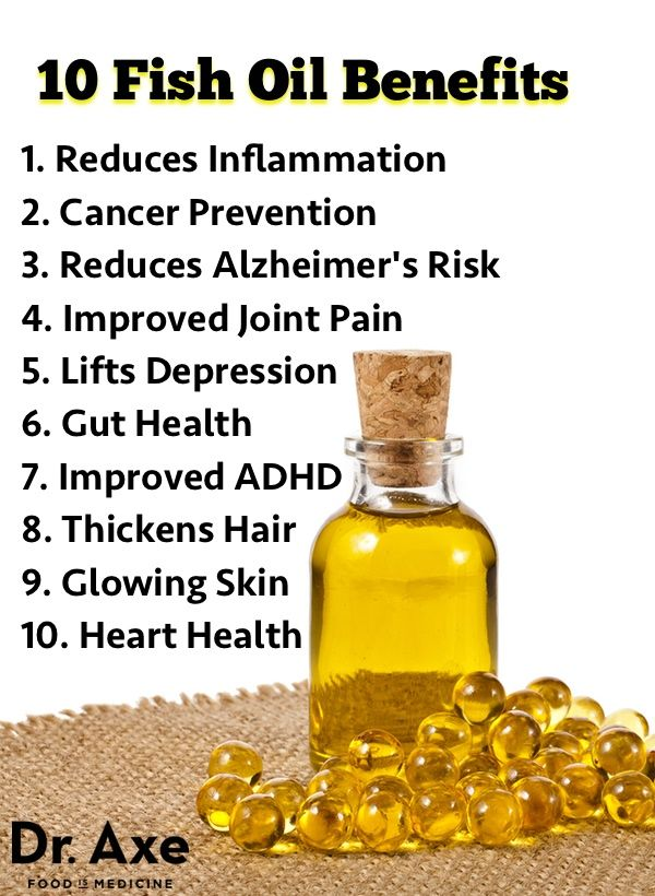 10 Omega-3 Fish Oil Benefits and Side Effects - According to a recent study