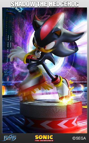 License 2 Play Sonic The Hedgehog: Shadow The Hedgehog Statue @ niftywarehouse.com #NiftyWarehouse #Sonic #SonicTheHedgehog #Sega #VideoGames #Gaming