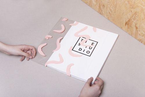 The Studio - identité pour une chaîne de télévision axée sur l'art contemporain et le design - Joseph Puy (Espagne)