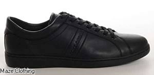 NEW Dolce & Gabbana Leather Trainers comin soon - Maze Clothing