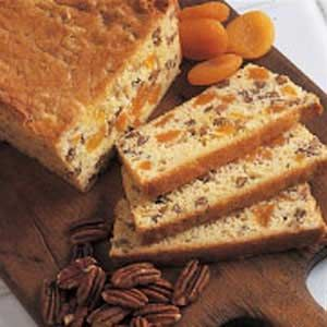 Apricot Bread Recipe -This is my most asked-for recipe. I've used it for many years, which is obvious from my recipe card that's yellowed and full of stains. The fruity appearance and taste of this easy-to-make bread blend beautifully with our warm Florida sunshine. It's always a hit whenever I serve it.