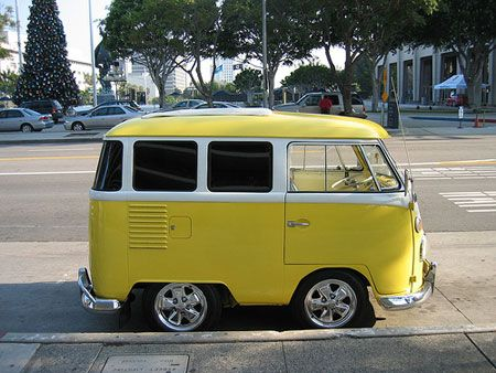 And I thought the regular VW buses were cute! This is precious!