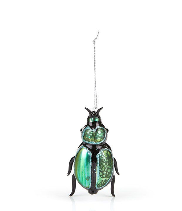Glitter Beetle Decoration