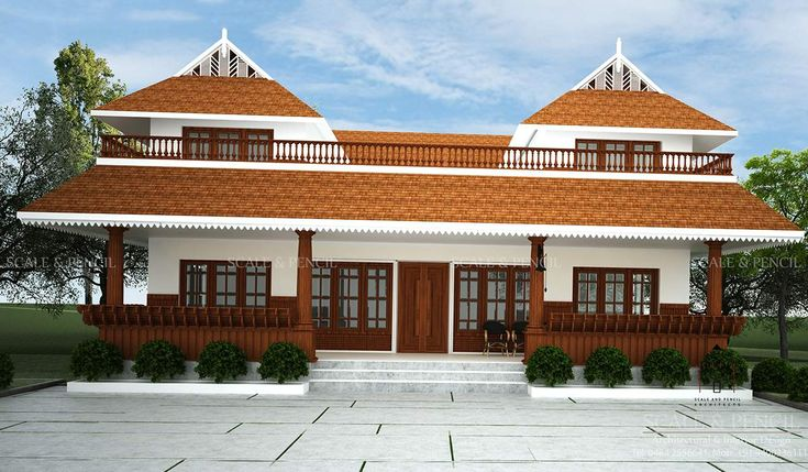 Traditional House Designs Palakkad, Modern Home Designs ...