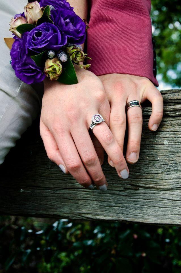 Cherie & Morgan #kalfinjewellery #diamondring #pinkdiamonds #diamond #rings #gentsring #rings #love #wedding #bride