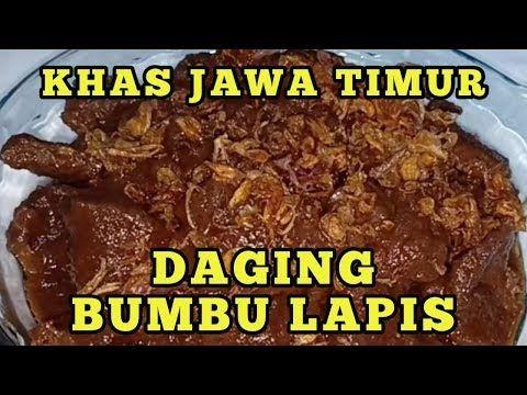 Daging Masak Bumbu Lapis Semur Ala Jawa Timur Youtube Makanan Dan Minuman Semur Daging Resep