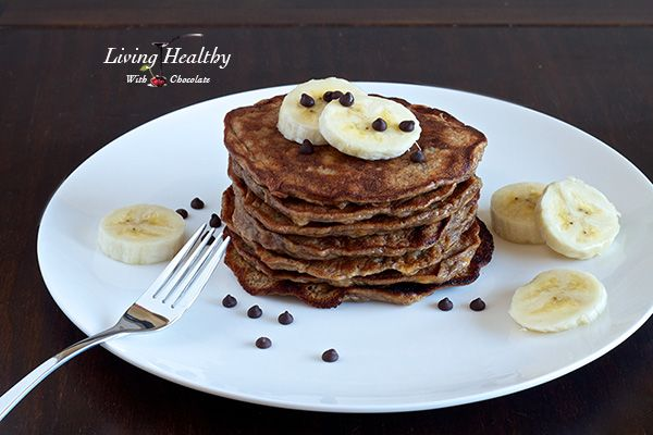 I made these for dinner last night with almond butter instead. It was delicious!!! Flourless Banana Pancakes (paleo, gluten, sugar free)