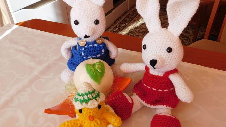 Zajączek na szydełku / Bunny Crochet  Amigurumi